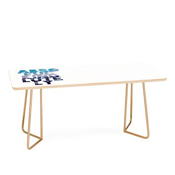 Leah Flores Absolutely 2 Coffee Table