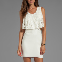 Parker Gwenn Dress in Ivory from REVOLVEclothing.com