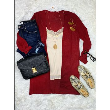 It's All Love Thermal Cardigan