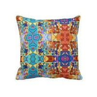 Totem Poles Pillow from Zazzle.com