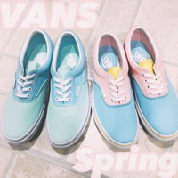 VANS Authentic Pastel Bay Sport Shoes Sneakers