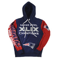 New England Patriots SB 49 Champions Official NFL Hoodie