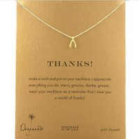 Shiny New Arrival Gift Jewelry Stylish Alloy Lock Necklace With Card [6345011457]