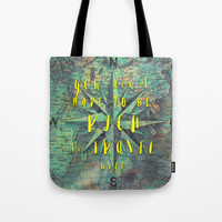 You don't have to be rich to travel well #motivationialquote Tote Bag by jbjart