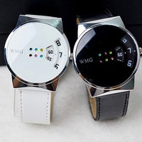 2015 Korean fashion colorful circle tide watches simple creative student table table Korean couple a couple of gifts = 1956980036