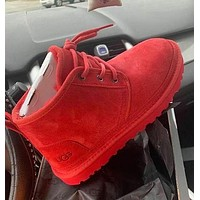 UGG new mid-cut Martin boots fashion wool snow boots non-slip warm shoes men and women snow shoes
