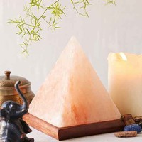 Pyramid Salt Rock Lamp