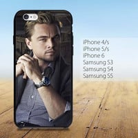 Leonardo DiCaprio Cool iPhone 4/4S, 5/5S, 5C, 6 Series Hard Plastic Case