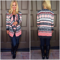 Sweet Tart Knit Cardigan Sweater