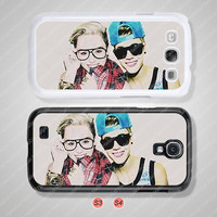 Miley cyrus Justin bieber, Samsung Galaxy S3 case, Samsung Galaxy S4 case, Cover Skin, Phone cases, Phone Covers - S0843
