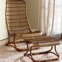 Bruges Chair and Ottoman - VivaTerra