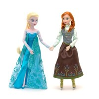 Frozen Anna And Elsa Ice Skating Doll Set | Disney Store