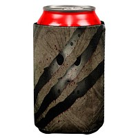 Halloween Horror Movie Mask Slasher Attack All Over Can Cooler