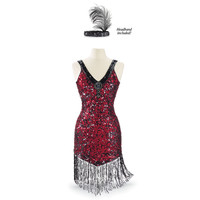 1920s Dress and Headband - New Age, Spiritual Gifts, Yoga, Wicca, Gothic, Reiki, Celtic, Crystal, Tarot at Pyramid Collection
