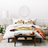 Jacqueline Maldonado The Graceful Duvet Cover