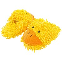 Duck Fuzzy Friends Adult Slippers