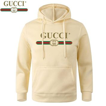 Gucci letters jumpsuit casual long sleeve pullover sweater-2