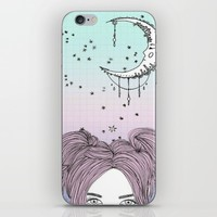 moonlight; iPhone & iPod Skin by Pink Berry Patterns