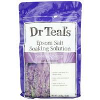 Dr. Teals Soothe And Sleep Epsom Salt Soaking Solution With Lavender - 3 Lb