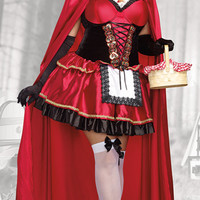 Plus Size Little Red Costume