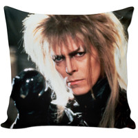 David Bowie Labyrinth Couch Pillow