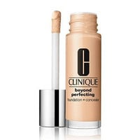 Clinique Beyond Perfecting Foundation + Concealer Makeup, 2 Alabaster (VF-N), Travel Size .17oz/5ml