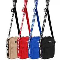Supreme new fashion men and women the same trend wallet
