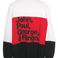 The Beatles Members Turtleneck Sweater