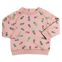 Stella McCartney Baby Girls Colorful Pineapple Sweatshirt