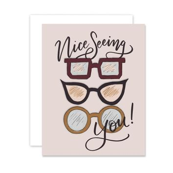 Nice Seeing You - A2 Note Card