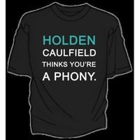 DFTBA Records :: Holden Caulfield Thinks You're A Phony T-Shirt