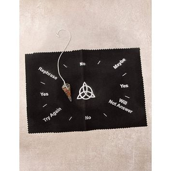Triquetra Pendulum Mat - As-Is-Clearance