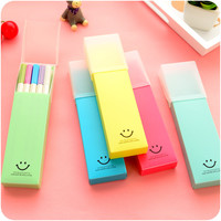 Korean Plastic Creative Storage Pen = 4877888580