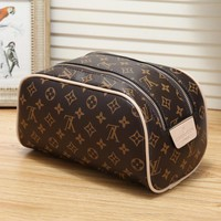 LV fashion trend casual wild large-capacity cosmetic bag rectangular bag pillow bag