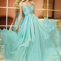Silky Chiffon Gown by Alyce Prom