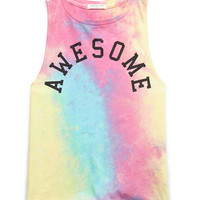Awesome Tie-Dye Tank (Kids)