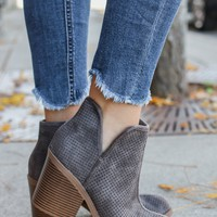 After Market Booties - Charcoal