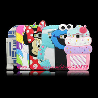 For Samsung Galaxy Core Prime G360 J1 J1 Ace 3D Silicon Unicorn Cupcake Owl LOVE Cat Cartoon Soft Phone Back Case Cover