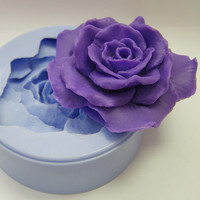 Rose mold soap mold silicone molds mold for soap mold flower mold silicone mold flora mold beautiful flower mold