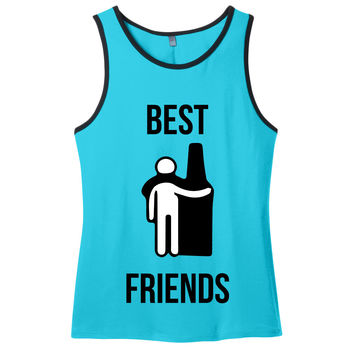 Best Beer Friends Men's Tank Top
