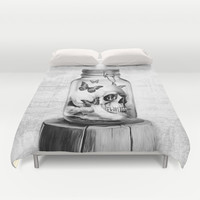 Lost thoughts Duvet Cover by Kristy Patterson Design