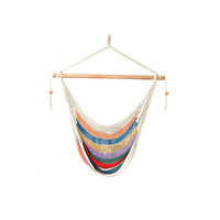Laid Back - Easy hang, Island Rope Hammock Chair - Multi