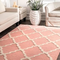 nuLOOM Hand Tufted Marrakech Trellis Area Rug