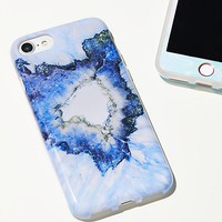 Marble Screen Protector & Case Set
