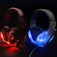Best Gaming Headset Gamer casque Deep Bass Gaming Headphones for Computer PC Laptop PS4 Xbox One Notebook with Microphone LED