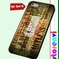 A Day To Remember Song custom case for smartphone case