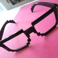 8bit Frame Glasses by Geeky Glamorous