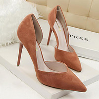 Women Pumps Shallow Hollow High Heels With Women Shoes Party Wedding Stiletto
