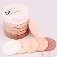 Womens Professional Makeup Face Pressed Powder 5 Color Concealing Contouring Palette Foundation Base Gift