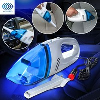 Car Wet Dry Vac, Handheld Vacuum Cleaner,  Portable Lightweight Auto Vaccum,  Rechargeable Vacuum Cleaner, 12V